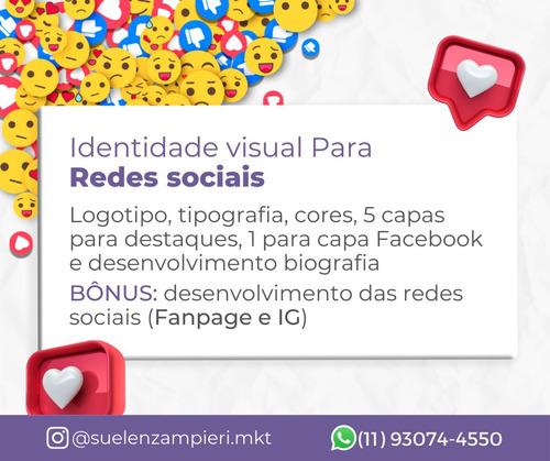 logotipo e identidade visual para as redes sociais