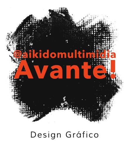 logotipo e introdução de propaganda (@aikidomultimidia)insta