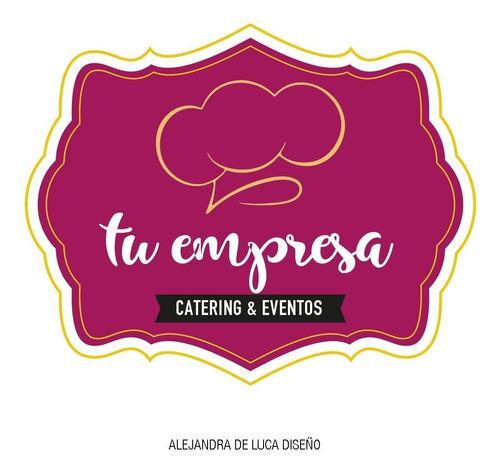 logotipo para restaurant - catering - bar - gastronomía