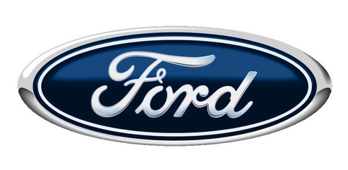 logotipo placa ford alternativo logo de auto mediano 6x15cm