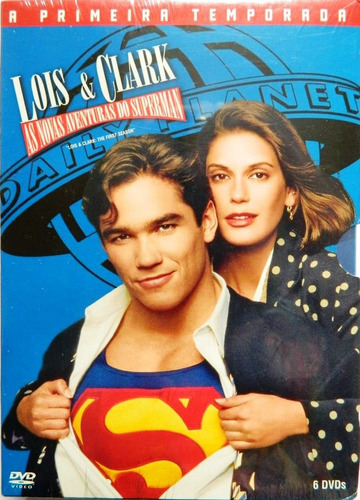 lois & clark: as novas aventuras do super homem 1ª temporada