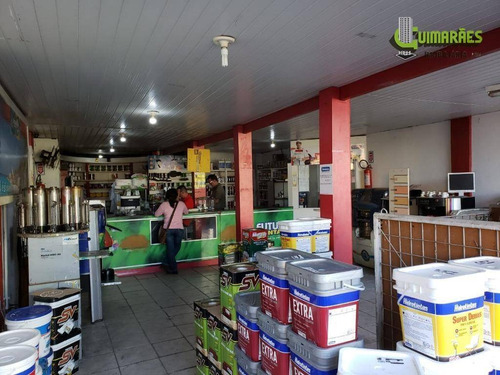 loja 207 m², depósito, escritório, w.c  social - caminho de areia - lo0052