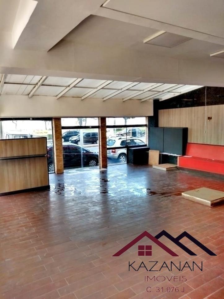loja com 150 m² em frente à praia do gonzaga. - 2521