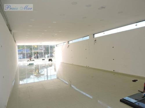 loja comercial para locação, centro, guarujá. - lo0034