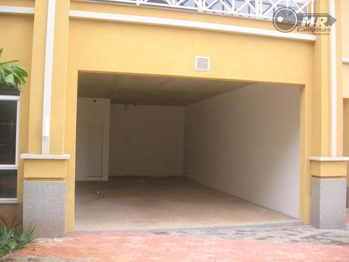 loja  comercial para venda e locação, loteamento center santa genebra, campinas. - lo0004