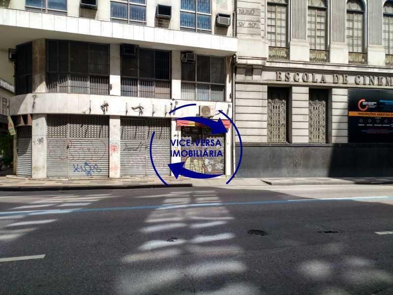 loja comercial à venda na rua primeiro de março, esquina com buenos aires - 44m², com banheiro e área no subsolo disponível para estoque! - 1323