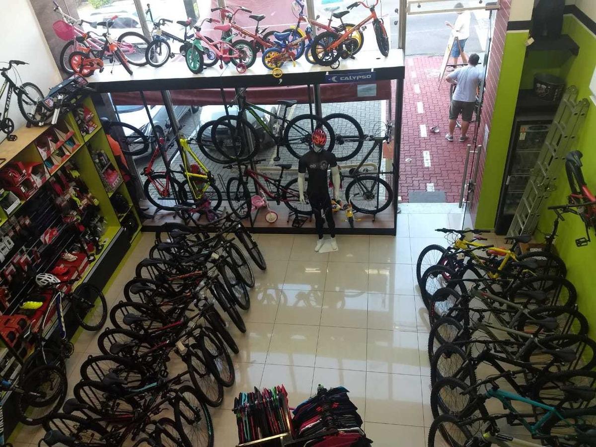 loja de bicicleta - bikeshop - ponto comercial - interior sp