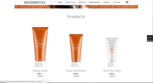 loja de cosmético-tema wordpress premium - envio imediato