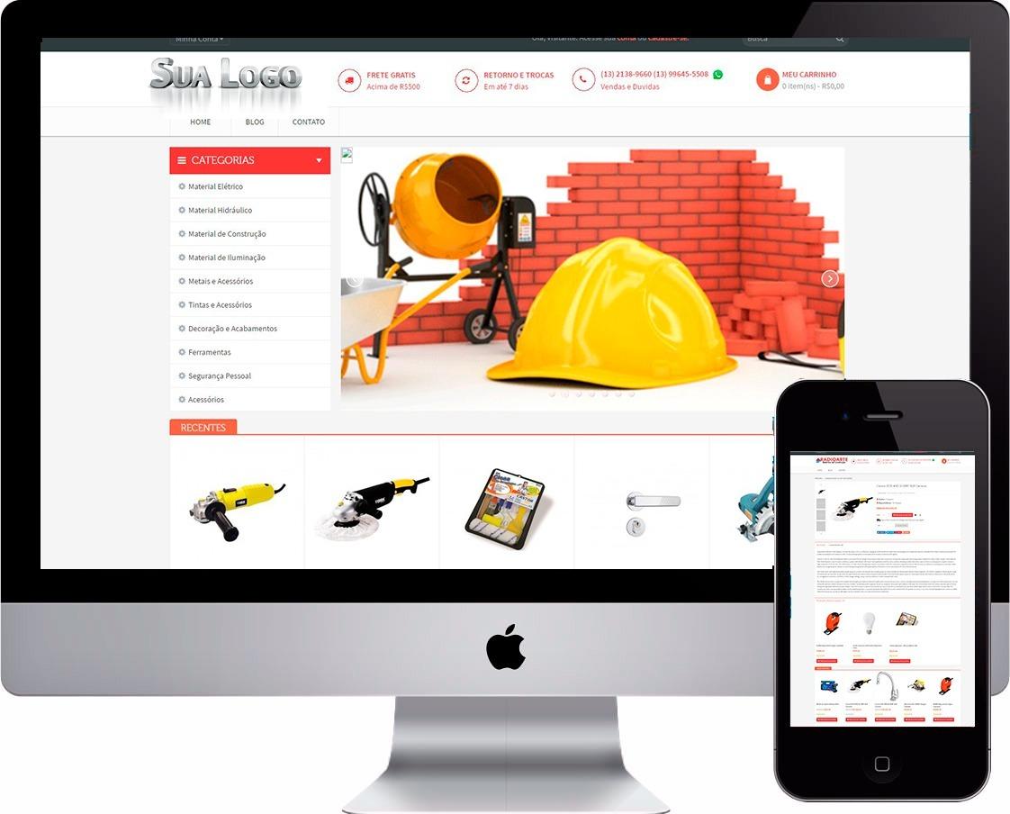 Loja De Material Para Construção Epi Lojas Outros - R  260,00 em ... 1cd447bd09