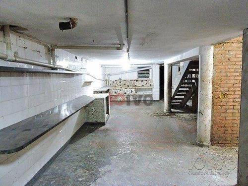 loja de rua comercial terreno de 6,30 x 28,00m, próximo do metrô praça da árvore, todo adaptado para funcionamento de  restaurante ou lanchonete - lo0014