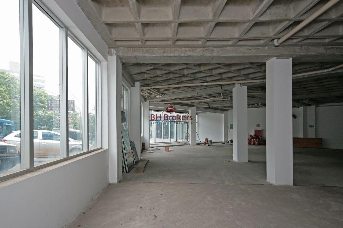 loja de rua em edifício de alto padrão de acabamento! - 6871