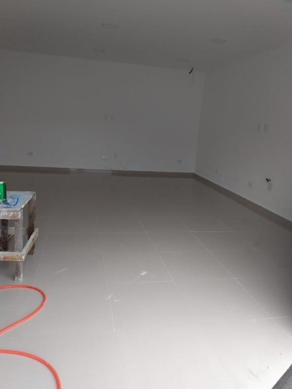 loja frente  rua para alugar, 60 m² por r$ 2.400/mês - boqueirão - praia grande/sp - lo0010