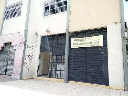 loja na avenida santos dumont com recepção e banheiro