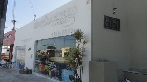 loja na avenida washington soares, 4 salas, banheiro
