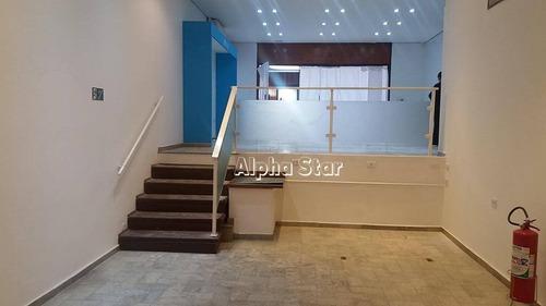 loja para alugar, 112 m² por r$ 9.500/mês - condomínio centro comercial alphaville - barueri/sp - lo0539