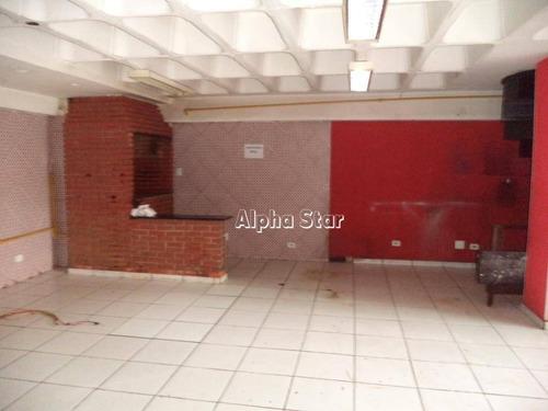 loja para alugar, 150 m² por r$ 9.000/mês - condomínio centro comercial alphaville - barueri/sp - lo0540