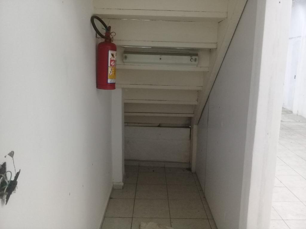 loja para alugar, 200 m² por r$ 3.800,00/mês - centro - santos/sp - lo0077