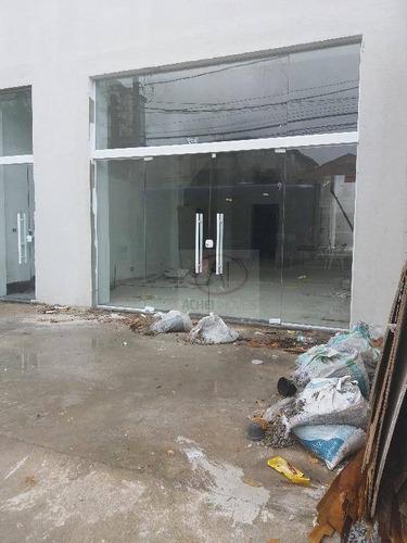 loja para alugar, 200 m² por r$ 9.000/mês - campo grande - santos/sp - lo0033