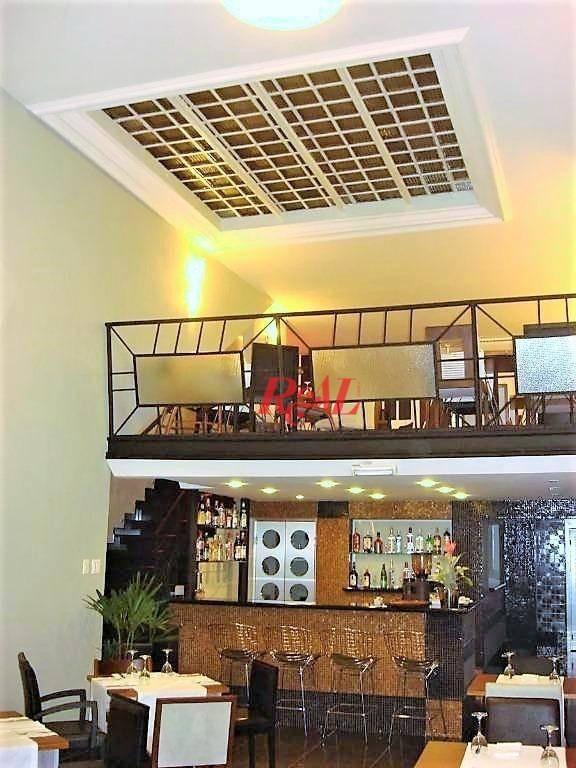 loja para alugar, 300 m² por r$ 8.000,00/mês - centro - santos/sp - lo0073