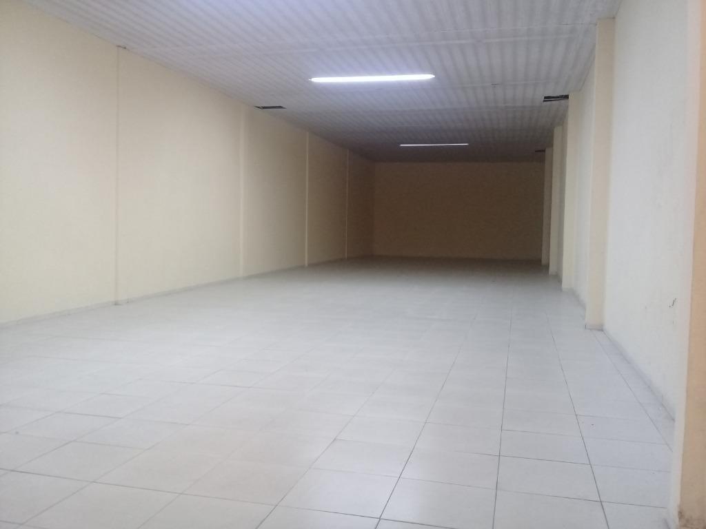 loja para alugar, 400 m² por r$ 7.000/mês - centro - santos/sp - lo0081