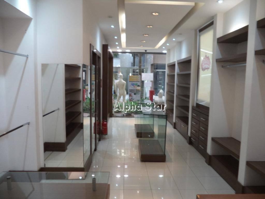 loja para alugar, 48 m² por r$ 2.500/mês - condomínio centro comercial alphaville - barueri/sp - lo0527
