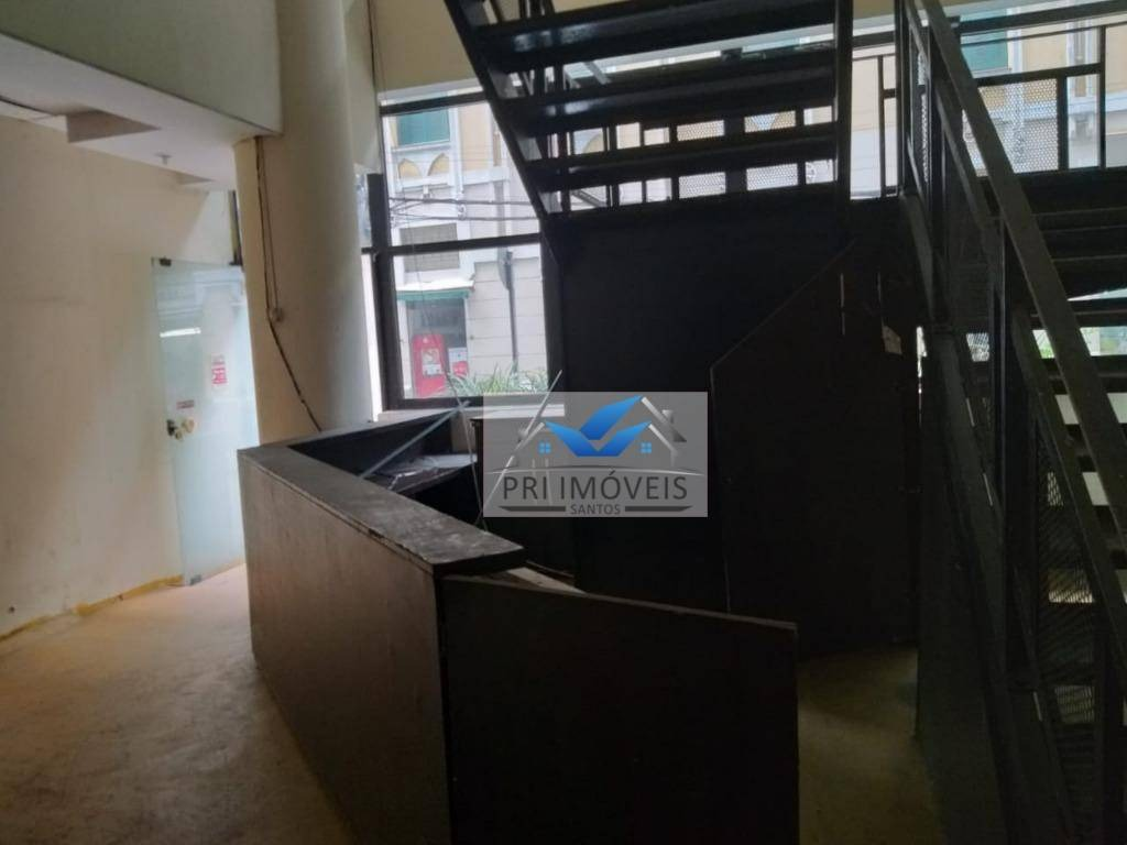 loja para alugar, 500 m² por r$ 20.000,00/mês - centro - santos/sp - lo0017