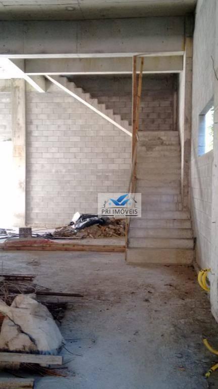 loja para alugar, 828 m² por r$ 20.000,00/mês - vila matias - santos/sp - lo0024