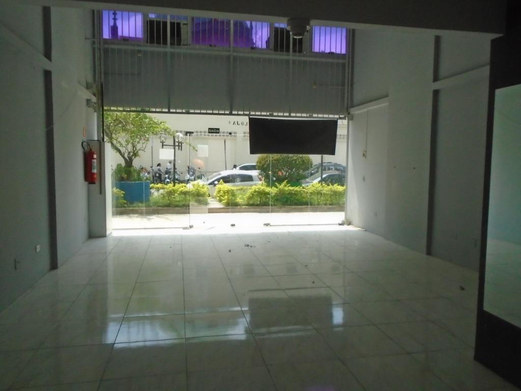 loja para alugar por r$ 5.500/mês - centro - santos/sp - lo0056