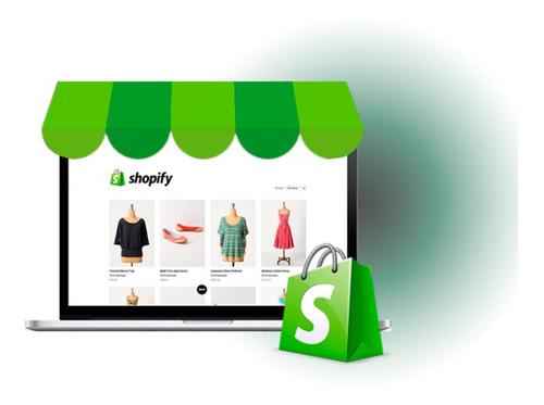 loja shopify completa e profissional de alta conversão