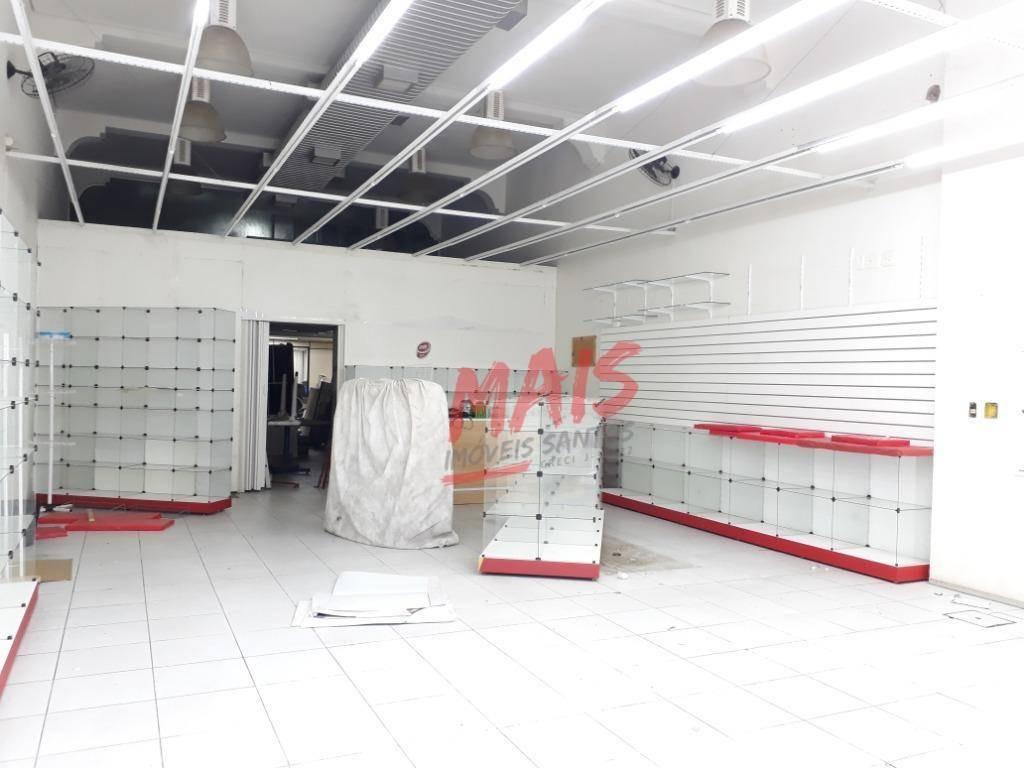 loja triplex, 600m², excelente ponto no centro de santos/sp - lo0023