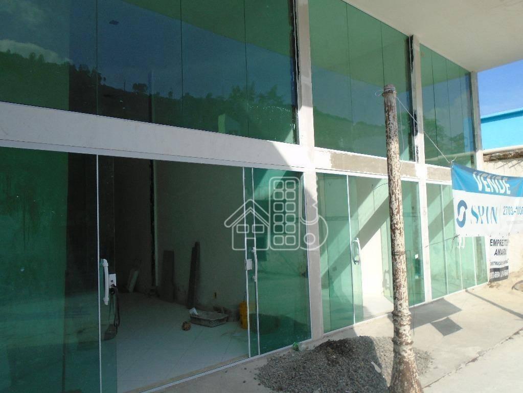loja à venda, 180 m² por r$ 1.300.000,00 - são francisco - niterói/rj - lo0045