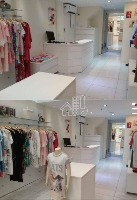 loja à venda, 33 m² por r$ 350.000,00 - piratininga - niterói/rj - lo0092