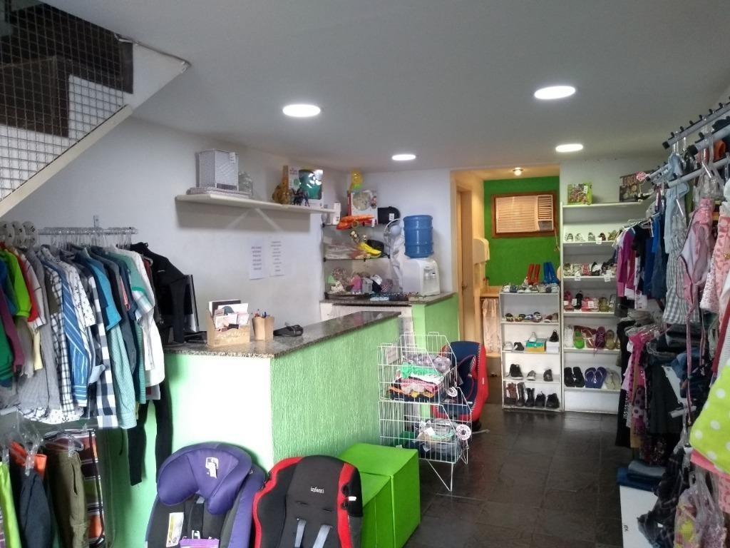 loja à venda, 52 m² por r$ 220.000,00 - itaipu - niterói/rj - lo0012