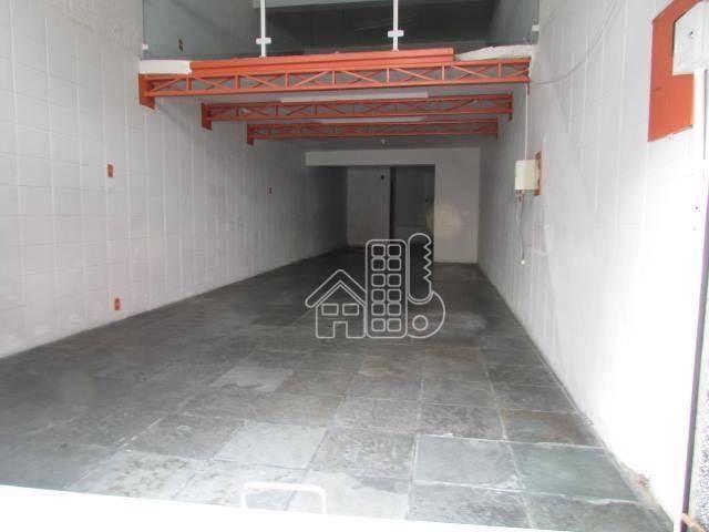 loja à venda, 75 m² por r$ 350.000,00 - centro - são gonçalo/rj - lo0027