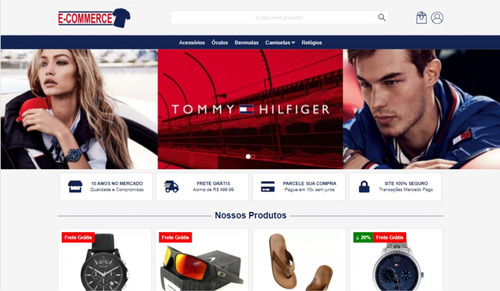 loja virtual com hospedagem e domínio inclusos