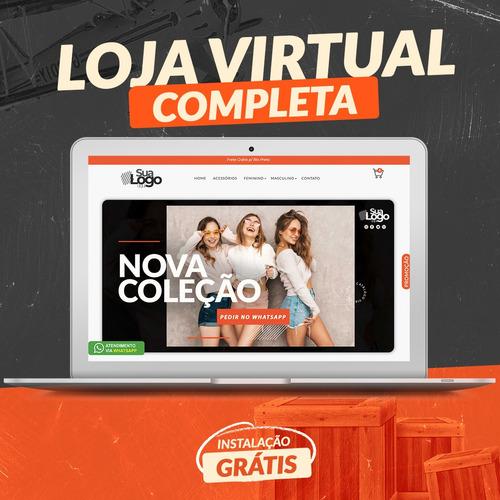 loja virtual completa configurada pronta pra vender