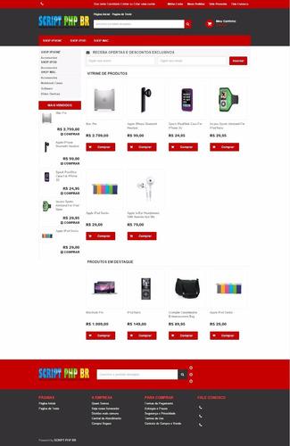 loja virtual completa + pagseguo + bcash + deposito + boleto