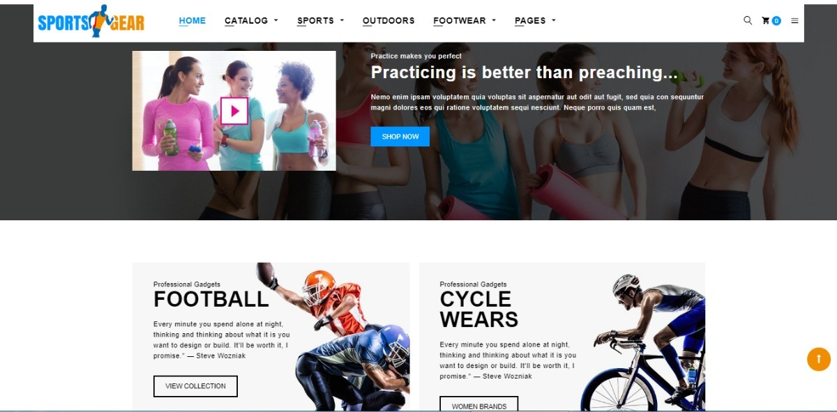 4fd079fee loja virtual de esporte plataforma shopify 2 minutos instala. Carregando  zoom.