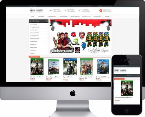 loja virtual de informática