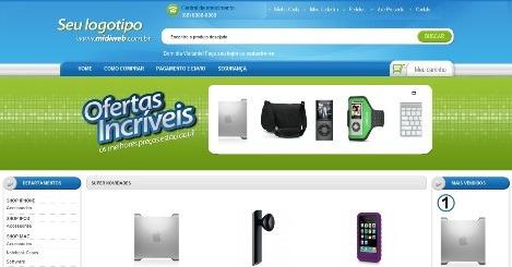 loja virtual de  moto peças + hospedagem e emails