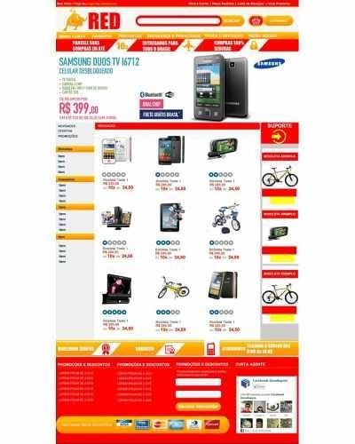 Loja Virtual Hb2 Red, Ecommerce, Php, Script - R  9,00 em Mercado Livre 5b054e1424