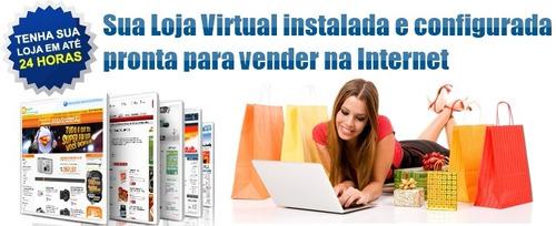 loja virtual + hospedagem + manutenção + ssl grátis + app