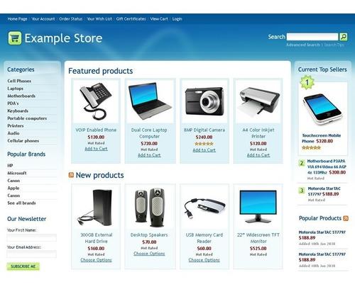loja virtual informatica eletrônicos celular site vendas