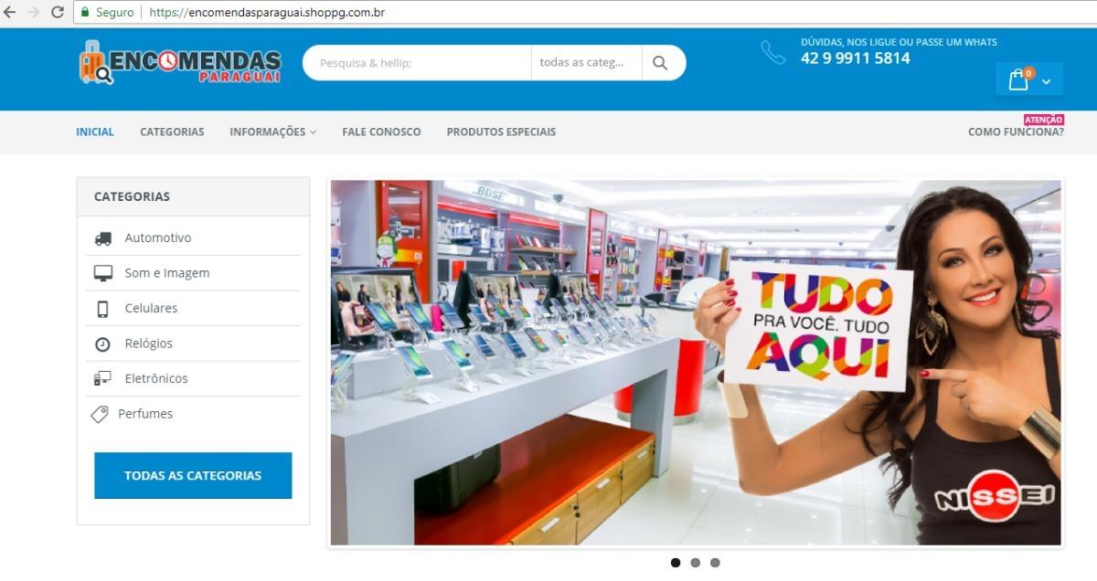 59088b210 loja virtual - integrada com compras paraguai. Carregando zoom.