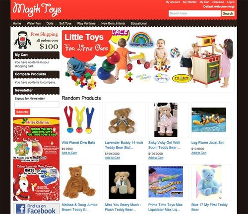 loja virtual magento comercio eletrônico