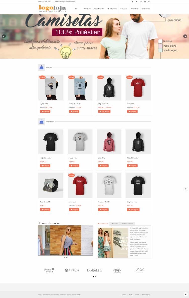 50ec00bc3 loja virtual para roupas em geral - profissional. Carregando zoom.