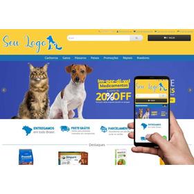 Loja Virtual Pet Shop 3.0 Com Retira Na Loja E Motoboy