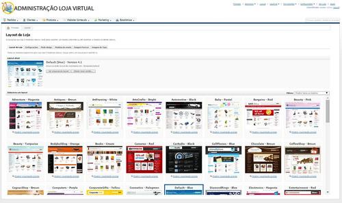loja virtual profissional c/65 temas 1 ano hospedagem grátis