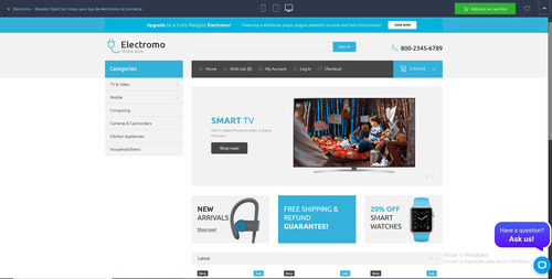 loja virtual pronta completa responsiva fácil de utilizar