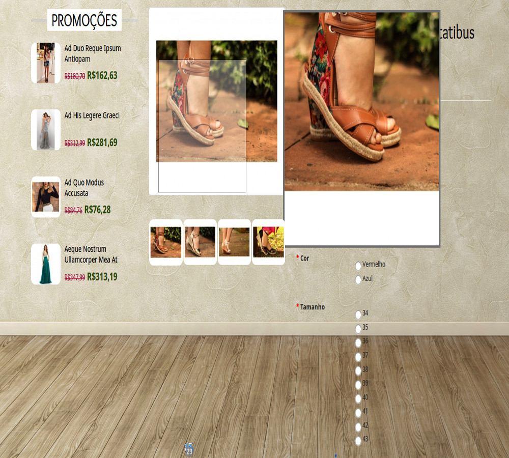 641bf8387 loja virtual p/venda de roupas e calçados + 1 ano hospedagem. Carregando  zoom.